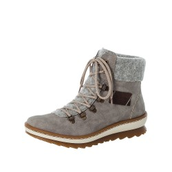 Rieker Z864340 Womens Grey Warm Lined Boot