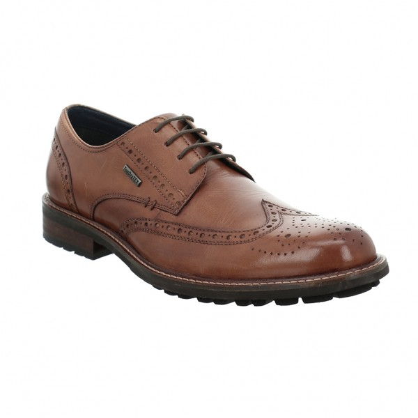Josef Seibel Jasper 53 Mens Brown Waterproof Shoe