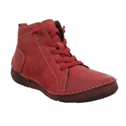 Josef Seibel Fergey 86 Womens Red Ankle Boot