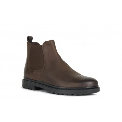 Geox Andalo Mens Coffee Brown Chelsea Boot
