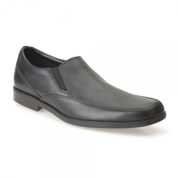 Clarks Hoxton Gent Boys Black School Shoe