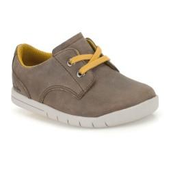 Clarks Crazy Rock Fst Boys Brown Shoe