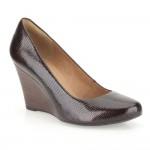 Clarks Elsa Purity Womens Burgundy Shoe