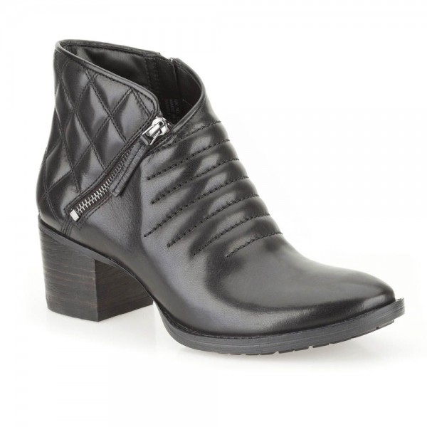 Clarks Movie Retro Womens Black Boot