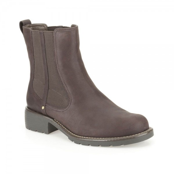 Clarks Orinoco Club Womens Burgundy Boot