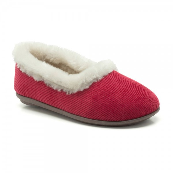 Clarks Winona Frost Womens Red Slipper