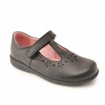 Start-rite Charlotte Girls Black School Shoe