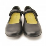 Start-rite Lucy Girls Black Leather Patent School Shoe