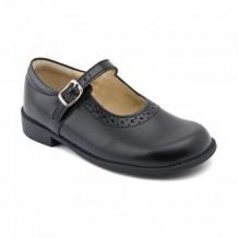 Start-rite Louisa Girls Black School Shoe