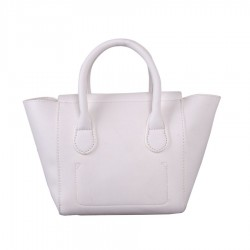 Red Cuckoo Womens White Tote Bag