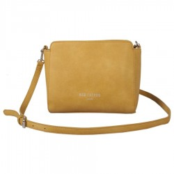 Red Cuckoo Womens Yellow Cross Body Bag