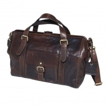 Rowallan Gladstone Bag in Brown Leather