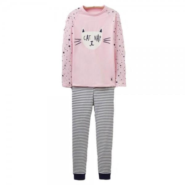 Joules Sleepwell Cat Pajama Set