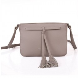Red Cuckoo 344 Womens Silver Tassel Cross Body Bag