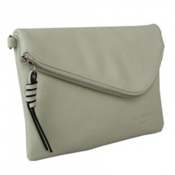 Red Cuckoo 354 Womens Lime Clutch Bag