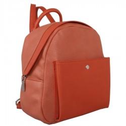 Red Cuckoo 367 Medium Coral Backpack