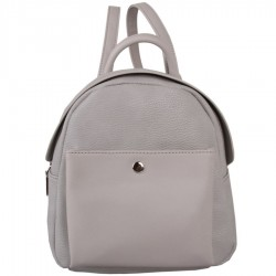 Red Cuckoo 367 Medium Silver Backpack