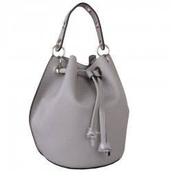 Red Cuckoo 371 Womens Grey Bucket Bag