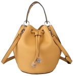 Red Cuckoo 371 Womens Mustard Bucket Bag