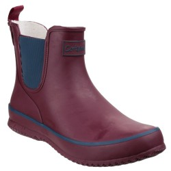 Cotswold Bushy Womens Wine Wellington Boot