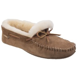 Cotswold Chastleton Mens Sheepskin Moccasin Slipper