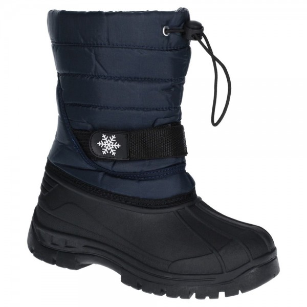 Cotswold Icicle Boys Girls Navy Waterproof Snow Boot