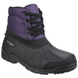 Cotswold Leoni Womens Lace-up Purple Waterproof Boot