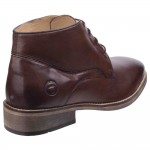 Cotswold Maugesbury Mens Dark Brown Leather Boot