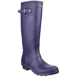 Cotswold Sandringham Purple Wellington Boot