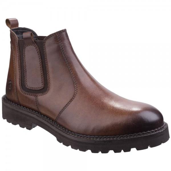 Cotswold Sapperton Mens Waterproof Cognac Boot