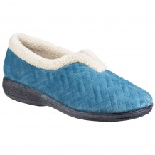 Fleet & Foster Madison Womens Blue Slipper
