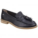 Hush Puppies Chardon Penny Womens Black Shoe