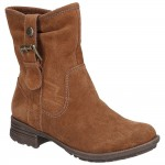 Hush Puppies Collie Womens Tan Boot
