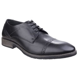 Hush Puppies Craig Luganda Mens Black Shoe