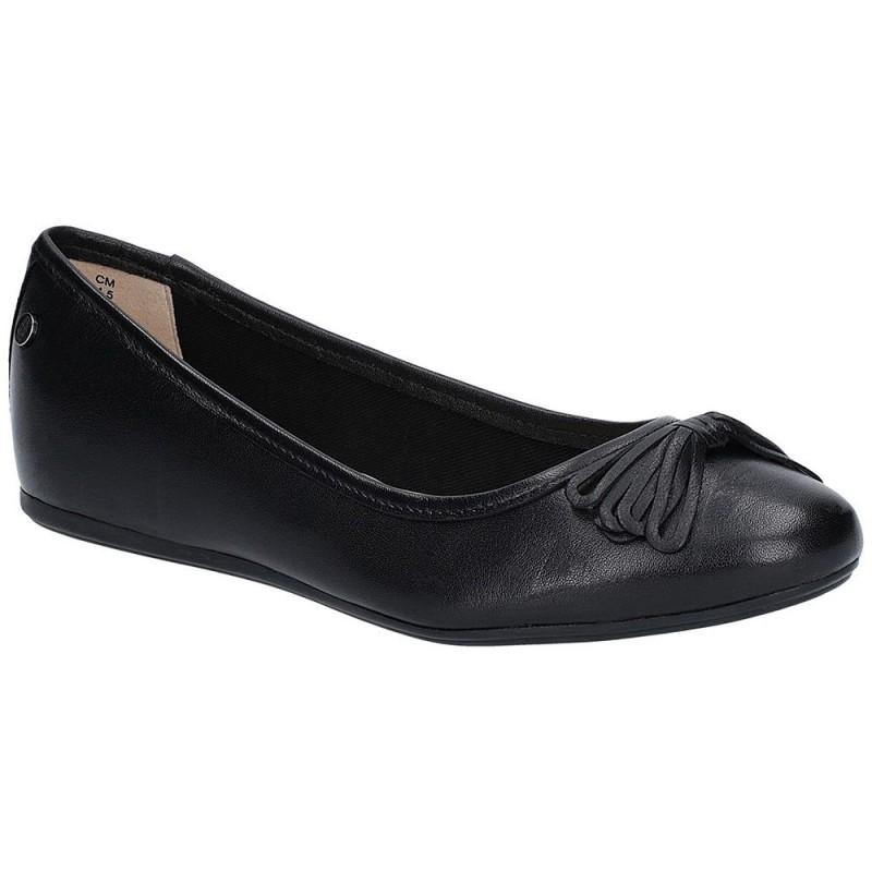 5edada98c5f41 Hush Puppies Heather Bow Ballet Shoe | Ogam Igam
