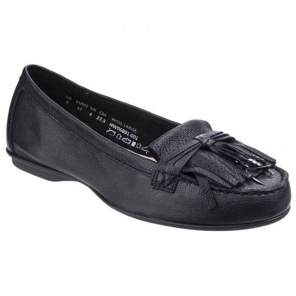 Hush Puppies Naveen Robyn Womens Black Shoe
