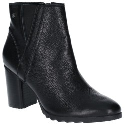 Hush Puppies Spaniel Womens Black Ankle Boot