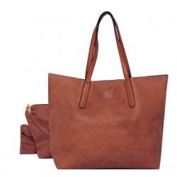 Long and Son 95172 Womens Brown Multi Bag