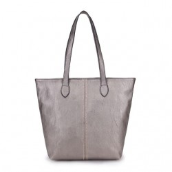 Long and Son 3882 Womens Silver Bag