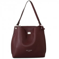 Red Cuckoo 457 Womens Dark Red Bag
