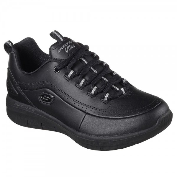 Skechers Synergy 2.0 Womens Black Trainer
