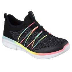 Skechers Synergy 2.0 Simply Chic Womens Black-Multi Shoe