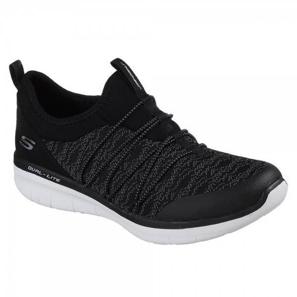 Skechers Synergy 2.0 Simply Chic Womens Black Shoe