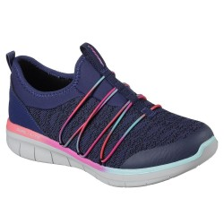 Skechers Synergy 2.0 Simply Chic Womens Navy-Multi Shoe