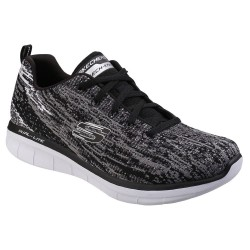 Skechers Synergy 2.0 High Spirits Womens Black-Gray Trainer