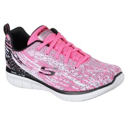 Skechers Synergy 2.0 High Spirits Womens Pink Trainer