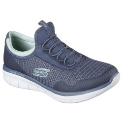 Skechers Synergy 2.0 Mirror Image Womens Slate Shoe