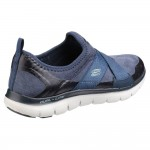 Skechers Flex Appeal 2.0 Bright Eyed Womens Navy Trainer