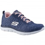 Skechers Flex Appeal 2.0 Womens Navy Trainer