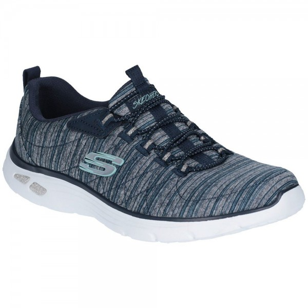 Skechers Empire D'Lux Womens Navy Shoe
